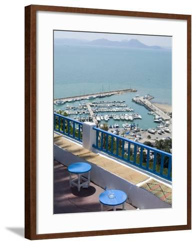 Sidi Bou Said, Tunisia, North Africa, Africa-Ethel Davies-Framed Art Print