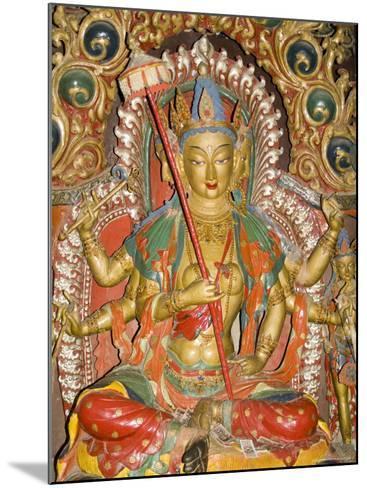 Sculpture, Kumbum, Gyantse, Tibet, China-Ethel Davies-Mounted Photographic Print