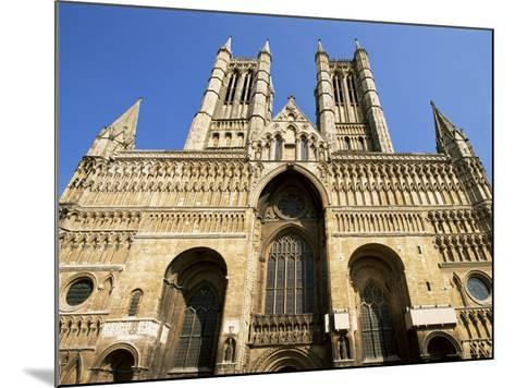 Lincoln Cathedral, Lincoln, Lincolnshire, England, United Kingdom-Neale Clarke-Mounted Photographic Print