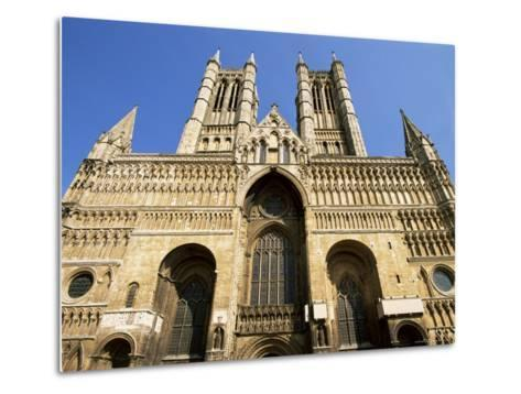Lincoln Cathedral, Lincoln, Lincolnshire, England, United Kingdom-Neale Clarke-Metal Print