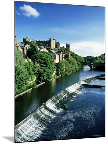 Durham Centre and River Wear, Durham, County Durham, England, United Kingdom-Neale Clarke-Mounted Photographic Print