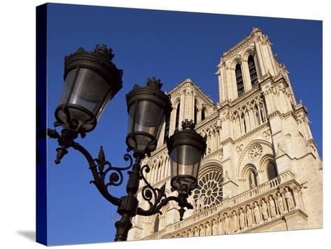 Notre Dame De Paris, Ile De La Cite, Paris, France-Neale Clarke-Stretched Canvas Print