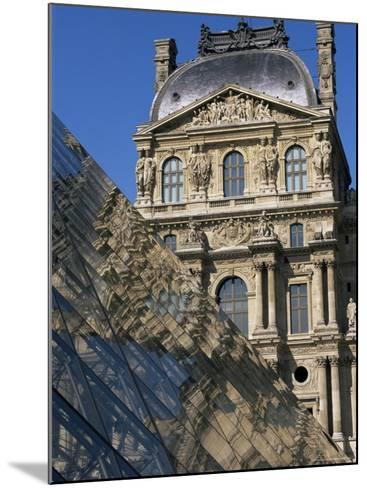 La Pyramide and Musee Du Louvre, Paris, France-Neale Clarke-Mounted Photographic Print