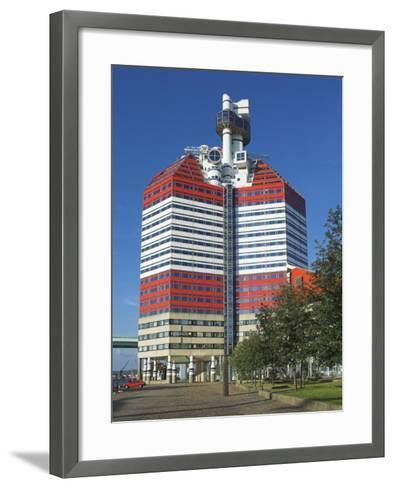 Uitken Lookout in Gothenburg, Goteborg Harbour, Sweden, Scandinavia-Neale Clarke-Framed Art Print