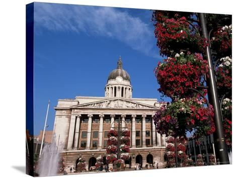 Council House, Market Square, Nottingham, Nottinghamshire, England, United Kingdom-Neale Clarke-Stretched Canvas Print