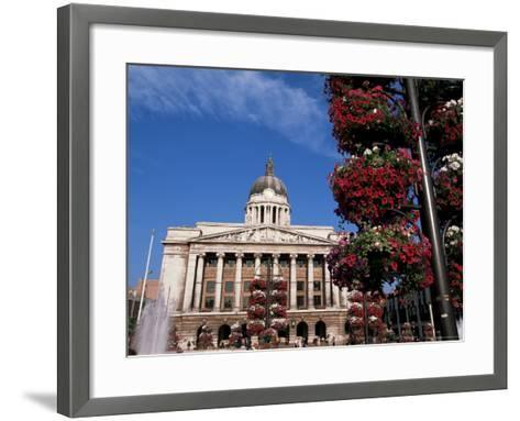Council House, Market Square, Nottingham, Nottinghamshire, England, United Kingdom-Neale Clarke-Framed Art Print