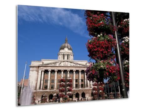 Council House, Market Square, Nottingham, Nottinghamshire, England, United Kingdom-Neale Clarke-Metal Print