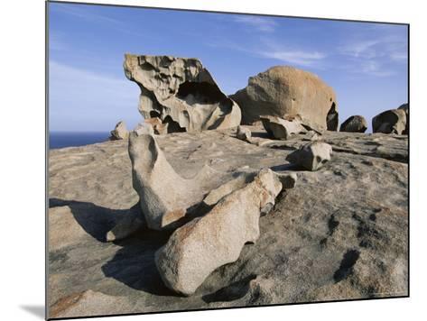 Remarkable Rocks, Flinders Chase National Park, Kangaroo Island, South Australia, Australia-Neale Clarke-Mounted Photographic Print