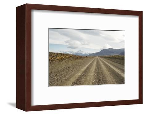 Road to El Chalten, Patagonia, Argentina, South America-Mark Chivers-Framed Art Print