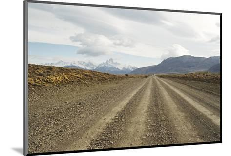 Road to El Chalten, Patagonia, Argentina, South America-Mark Chivers-Mounted Photographic Print