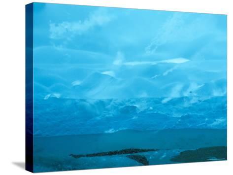 Under the Glacier, Perito Moreno, Argentina, South America-Mark Chivers-Stretched Canvas Print