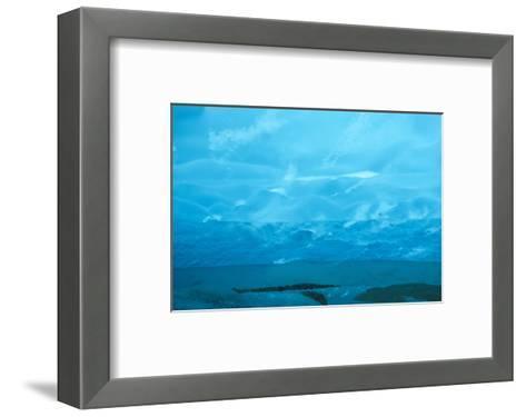 Under the Glacier, Perito Moreno, Argentina, South America-Mark Chivers-Framed Art Print