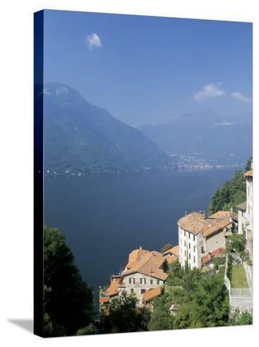 Lake Como, Italian Lakes, Italy-James Emmerson-Stretched Canvas Print