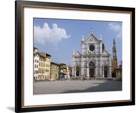 Chiesa Di Santa Croce, Florence, Tuscany, Italy-James Emmerson-Framed Art Print