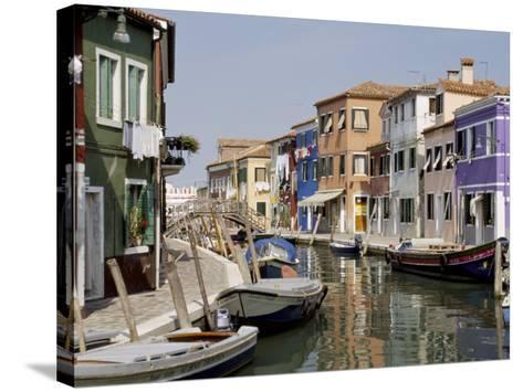 Burano, Venice, Veneto, Italy-James Emmerson-Stretched Canvas Print