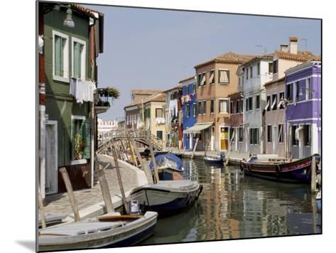 Burano, Venice, Veneto, Italy-James Emmerson-Mounted Photographic Print