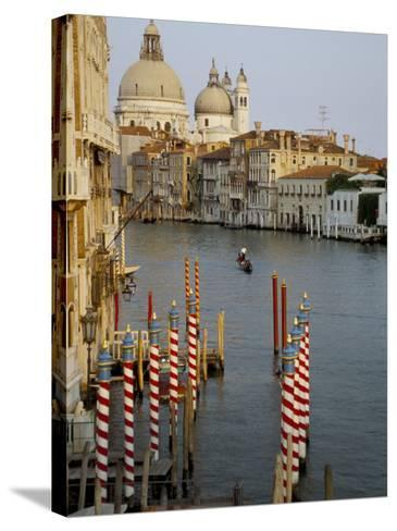 Grand Canal and Santa Maria Salute, Venice, Unesco World Heritage Site, Veneto, Italy-James Emmerson-Stretched Canvas Print