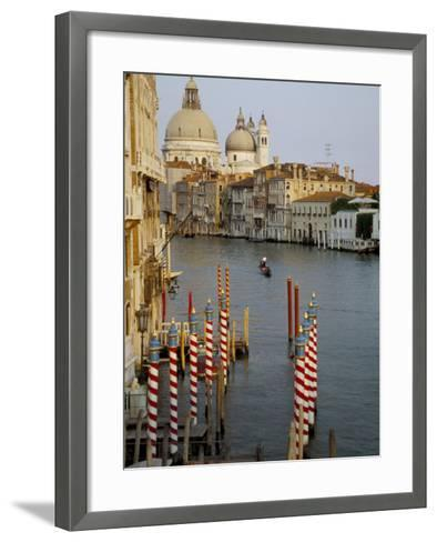 Grand Canal and Santa Maria Salute, Venice, Unesco World Heritage Site, Veneto, Italy-James Emmerson-Framed Art Print