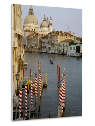 Grand Canal and Santa Maria Salute, Venice, Unesco World Heritage Site, Veneto, Italy-James Emmerson-Metal Print
