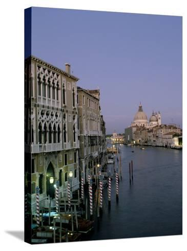 Grand Canal and S. Maria Salute, Venice, Veneto, Italy-James Emmerson-Stretched Canvas Print