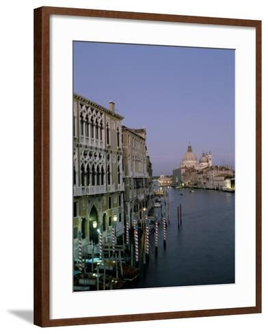 Grand Canal and S. Maria Salute, Venice, Veneto, Italy-James Emmerson-Framed Art Print