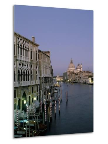 Grand Canal and S. Maria Salute, Venice, Veneto, Italy-James Emmerson-Metal Print