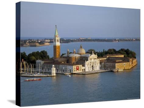 Isola San Giorgio, Venice, Veneto, Italy-James Emmerson-Stretched Canvas Print
