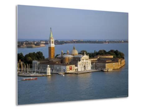 Isola San Giorgio, Venice, Veneto, Italy-James Emmerson-Metal Print