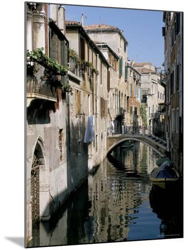 Canal Scene, Venice, Veneto, Italy-James Emmerson-Mounted Photographic Print