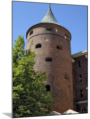 Powder Tower, Riga, Latvia, Baltic States-Gary Cook-Mounted Photographic Print