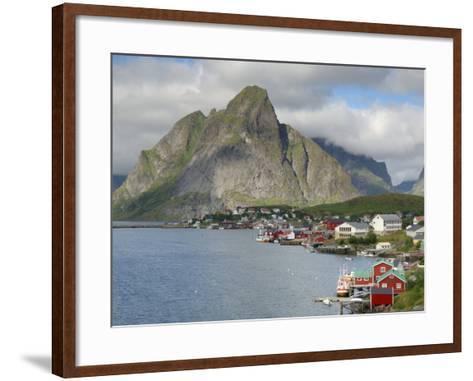 Reine, Moskenesoya, Lofoten Islands, Norway, Scandinavia-Gary Cook-Framed Art Print