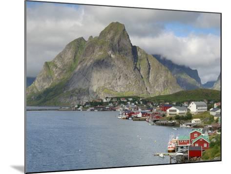 Reine, Moskenesoya, Lofoten Islands, Norway, Scandinavia-Gary Cook-Mounted Photographic Print