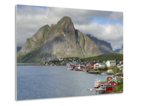 Reine, Moskenesoya, Lofoten Islands, Norway, Scandinavia-Gary Cook-Metal Print