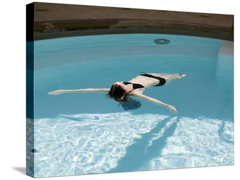 Cross Bath, Thermae Bath Spa, Bath, Avon, England, United Kingdom-Matthew Davison-Stretched Canvas Print