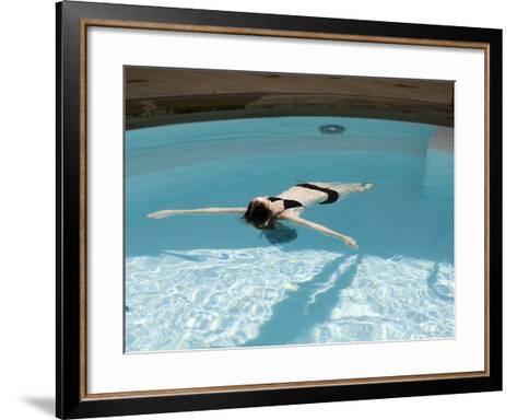 Cross Bath, Thermae Bath Spa, Bath, Avon, England, United Kingdom-Matthew Davison-Framed Art Print