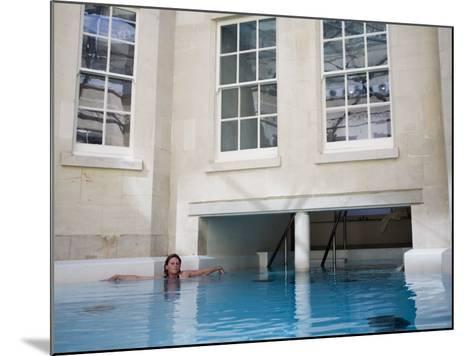 Hot Bath, Thermae Bath Spa, Bath, Avon, England, United Kingdom-Matthew Davison-Mounted Photographic Print