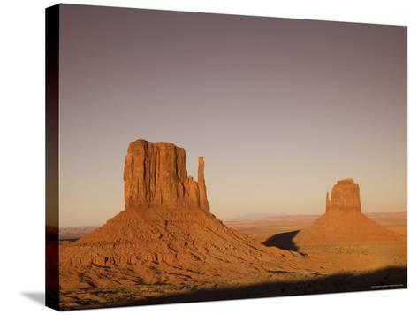 Monument Valley Navajo Tribal Park, Utah Arizona Border Area, USA-Angelo Cavalli-Stretched Canvas Print