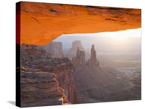 Sunrise, Mesa Arch, Canyonlands National Park, Utah, USA-Angelo Cavalli-Stretched Canvas Print