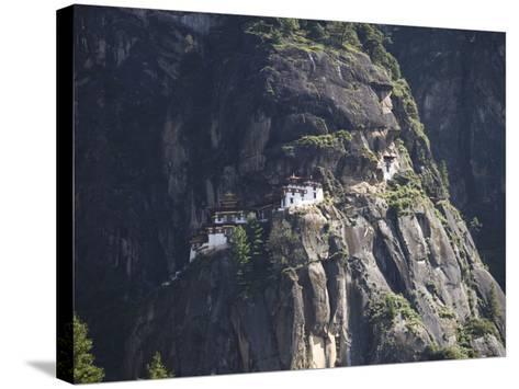 Taktshang Goemba (Tiger's Nest) Monastery, Paro, Bhutan-Angelo Cavalli-Stretched Canvas Print