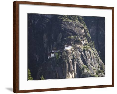 Taktshang Goemba (Tiger's Nest) Monastery, Paro, Bhutan-Angelo Cavalli-Framed Art Print