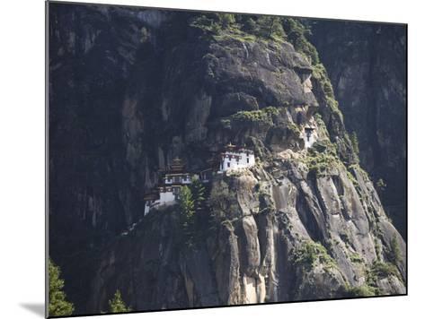 Taktshang Goemba (Tiger's Nest) Monastery, Paro, Bhutan-Angelo Cavalli-Mounted Photographic Print
