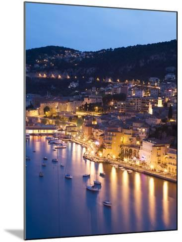 Villefranche Sur Mer, Alpes Maritimes, Provence, Cote d'Azur, French Riviera, France-Angelo Cavalli-Mounted Photographic Print