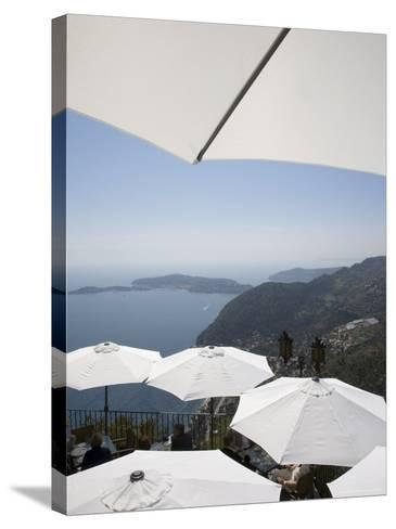 Eze, Alpes Maritimes, Provence, Cote d'Azur, French Riviera, France, Mediterranean-Angelo Cavalli-Stretched Canvas Print