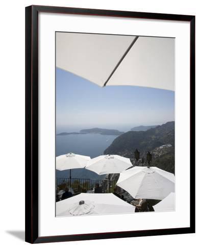 Eze, Alpes Maritimes, Provence, Cote d'Azur, French Riviera, France, Mediterranean-Angelo Cavalli-Framed Art Print