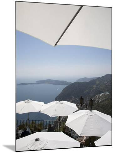 Eze, Alpes Maritimes, Provence, Cote d'Azur, French Riviera, France, Mediterranean-Angelo Cavalli-Mounted Photographic Print
