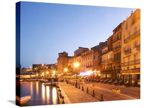 Villefranche Sur Mer, Alpes Maritimes, Provence, Cote d'Azur, French Riviera, France-Angelo Cavalli-Stretched Canvas Print