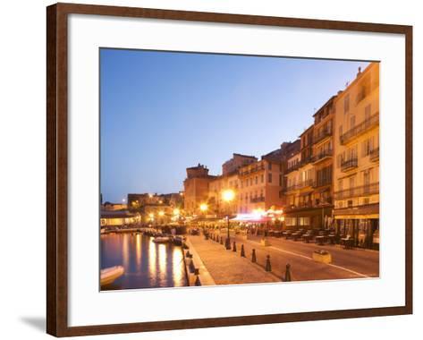 Villefranche Sur Mer, Alpes Maritimes, Provence, Cote d'Azur, French Riviera, France-Angelo Cavalli-Framed Art Print