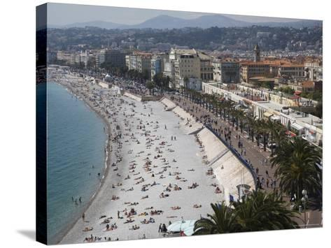 Nice, Alpes Maritimes, Provence, Cote d'Azur, French Riviera, France, Mediterranean-Angelo Cavalli-Stretched Canvas Print