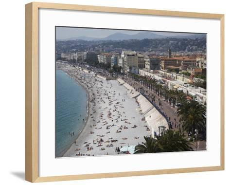 Nice, Alpes Maritimes, Provence, Cote d'Azur, French Riviera, France, Mediterranean-Angelo Cavalli-Framed Art Print