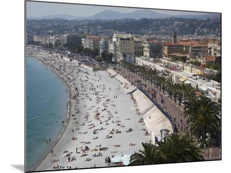 Nice, Alpes Maritimes, Provence, Cote d'Azur, French Riviera, France, Mediterranean-Angelo Cavalli-Mounted Photographic Print